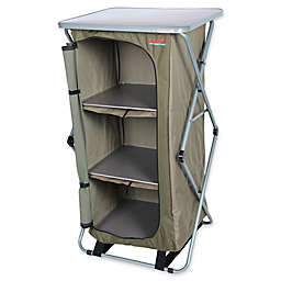 Bushtec Adventure Sierra 4-Shelf Single Camp Cupboard