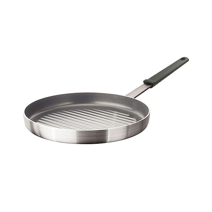Alternate image 1 for Artisanal Kitchen Supply® Pro Series Nonstick Aluminum 12-Inch Grill Pan