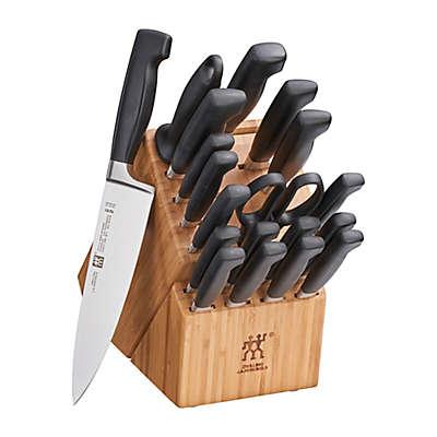 Zwilling® J.A. Henckels Four Star 20-Piece Knife Block