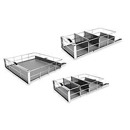 simplehuman® Pull-Out Cabinet Organizer Collection in Grey