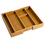 Bamboo Expandable Gadget Tray