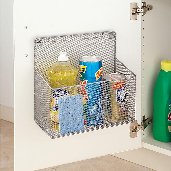 Alternate image 1 for .ORG Metal Mesh Kitchen Cabinet Organizer
