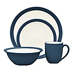 Noritake® Colorwave Curve 4-Piece Place Setting in Blue