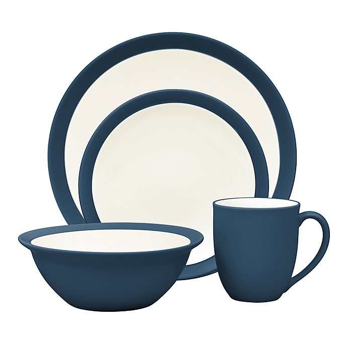 Alternate image 1 for Noritake® Colorwave Curve Dinnerware Collection in Blue