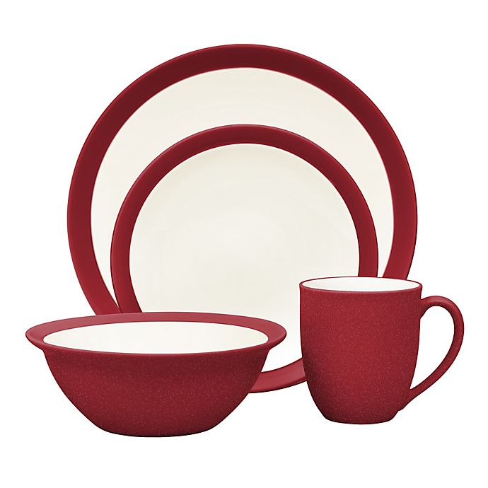 Alternate image 1 for Noritake® Colorwave Curve Dinnerware Collection in Raspberry