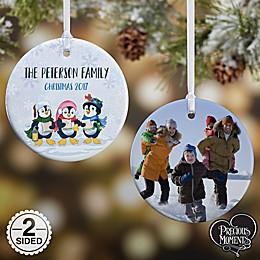 Precious Moments® Penguin 2-Sided Glossy Photo Christmas Ornament