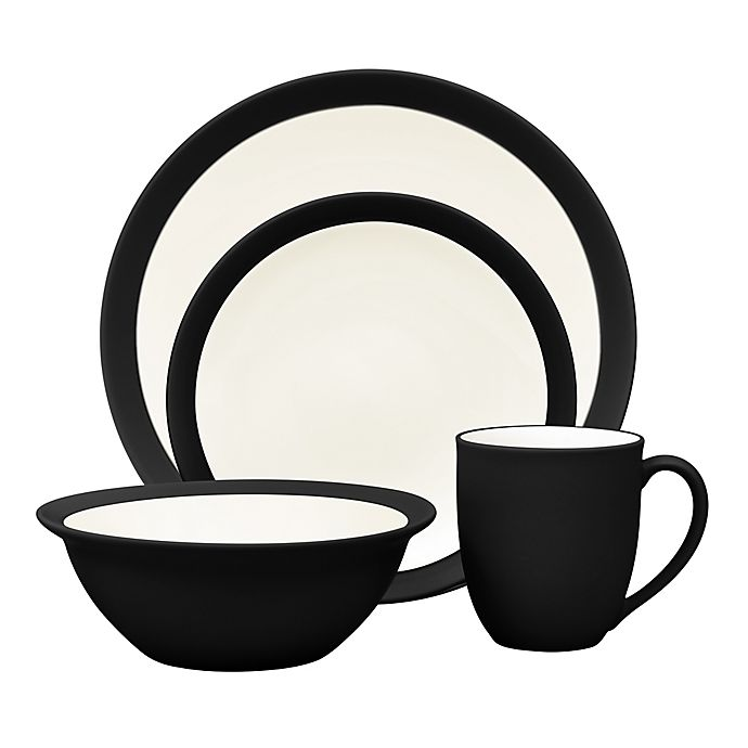 Alternate image 1 for Noritake® Colorwave Curve Dinnerware Collection in Graphite