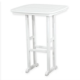 POLYWOOD® Nautical 31-Inch Bar Table