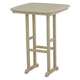 POLYWOOD® Nautical 31-Inch Bar Table in Sand