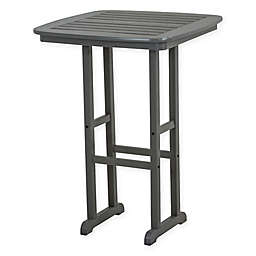 POLYWOOD® Nautical 31-Inch Bar Table in Slate Grey