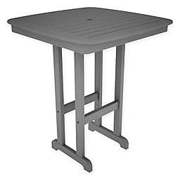 POLYWOOD® Nautical 37-Inch Bar Table in Slate Grey