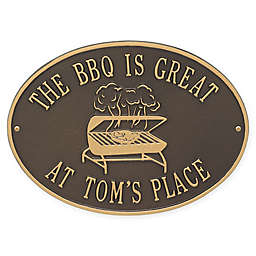 Whitehall Products Grill Indoor/Outdoor Wall Plaque