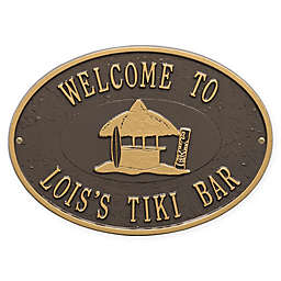 Whitehall Products Tiki Hut Indoor/Outdoor Wall Plaque