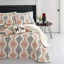 Azalea Skye® Cusco Rhombus 3-Piece Reversible Quilt Set in Beige