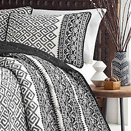 Azalea Skye® Greca Borders 2-Piece Reversible Twin Quilt Set in Beige