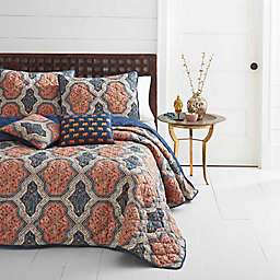 Azalea Skye® Rhea 2-Piece Reversible Twin Quilt Set in Orange