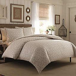 Laura Ashley® Victoria Flannel Comforter Set
