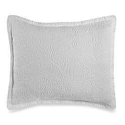 Barbara Barry® Arroyo Lucent European Pillow Sham in White