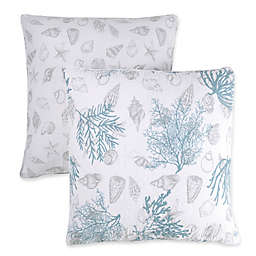 Panama Jack® Ocean Forest Square Throw Pillows (Set of 2)