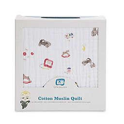 Little Unicorn The Boss Baby Toy Box Cotton Muslin Quilt