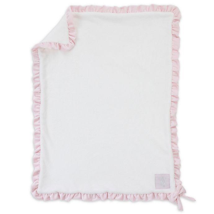 Alternate image 1 for Nojo® Ballerina Bows Plush Blanket