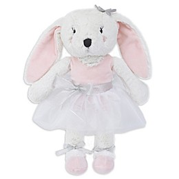Nojo® Ballerina Bows Plush Bunny with Tutu