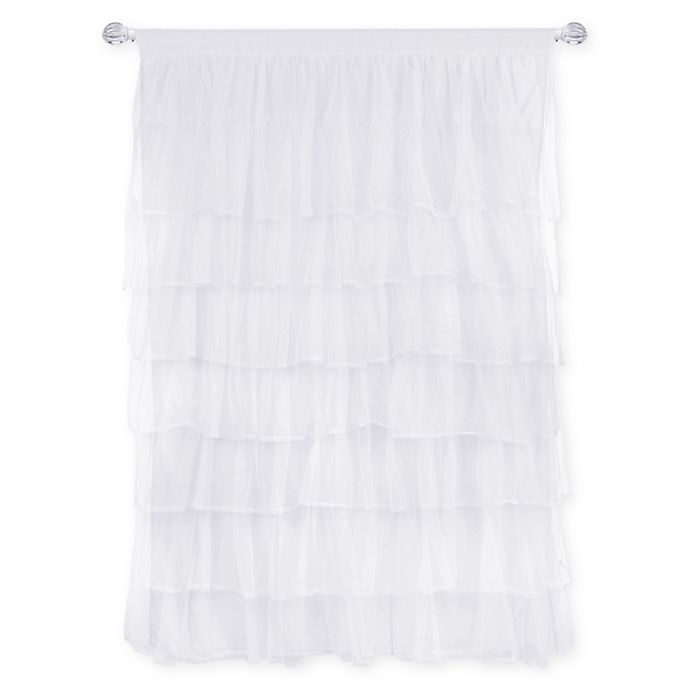 Alternate image 1 for Tadpoles™ Multi-Layer Tulle 84-Inch Curtain Panel