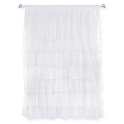 Tadpoles™ Multi-Layer Tulle 84-Inch Curtain Panel