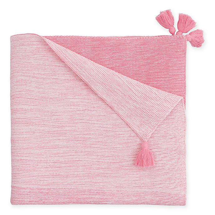 Alternate image 1 for Elegant Baby® Ombre Knit Blanket
