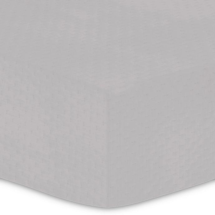 Buy Kushies® Waterproof Crib Mattress Cover in Grey from ...