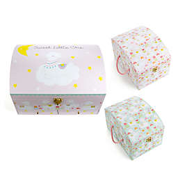 Tri-Coastal Design Little Llama Dreams Nested Dome Trunks (Set of 3)