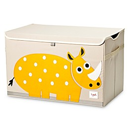3 Sprouts Rhino Toy Chest