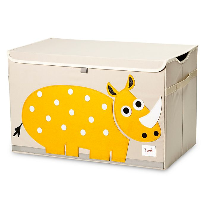Alternate image 1 for 3 Sprouts® Rhino Toy Chest