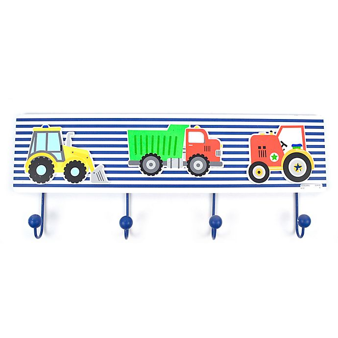 Alternate image 1 for Concepts In Time Truck Wall Hooks