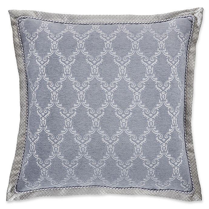 Alternate image 1 for Croscill® Seren European Pillow Sham in Blue