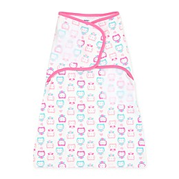 Gerber® Owl Simply Secure Swaddle in Pink