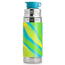 Pura Sport Mini™ 9 oz. Insulated Stainless Steel Bottle with Silicone Sport Top