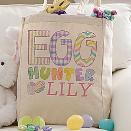 Easter Egg Hunter Petite Tote Bag