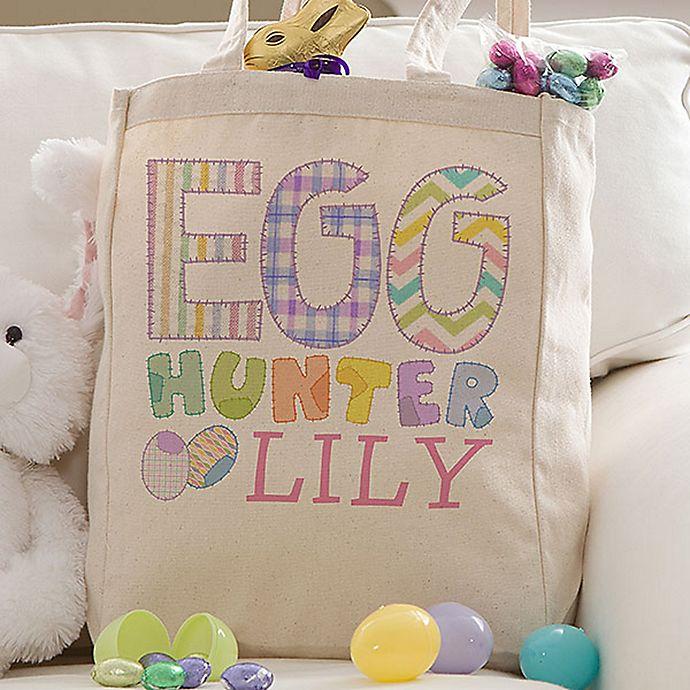 Alternate image 1 for Easter Egg Hunter Petite Tote Bag