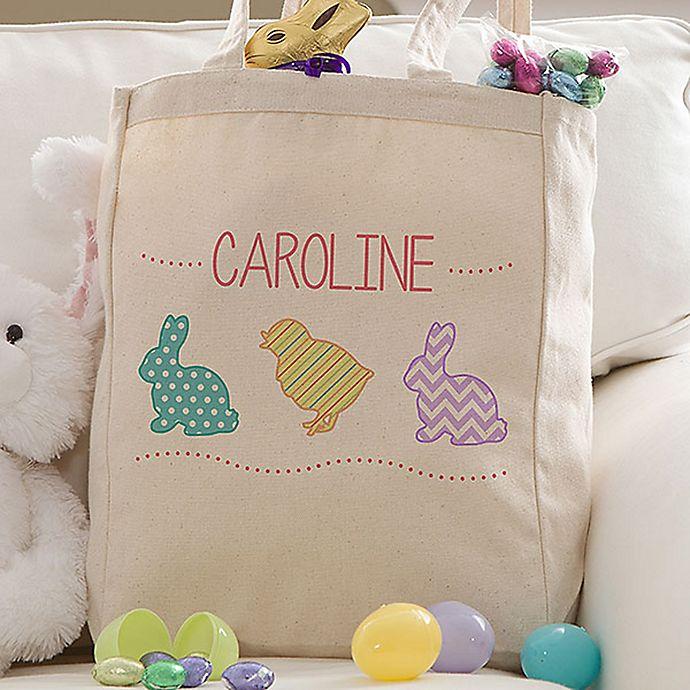 Alternate image 1 for Hop Hop Easter Petite Tote Bag