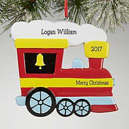 Choo Choo Train© Personalized Christmas Ornament
