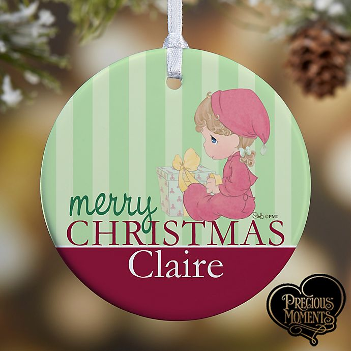 Alternate image 1 for Precious Moments® Baby Christmas Ornament