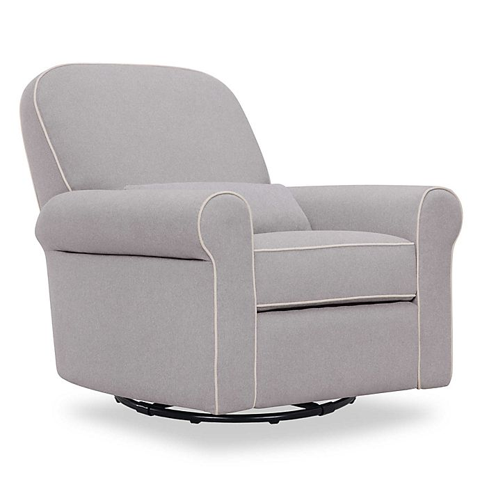 Alternate image 1 for DaVinci Ruby Recliner and Glider in Grey/Cream