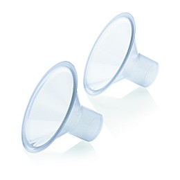 Medela® PersonalFit™ Small 21mm Breast Shields in Clear (Set of 2)