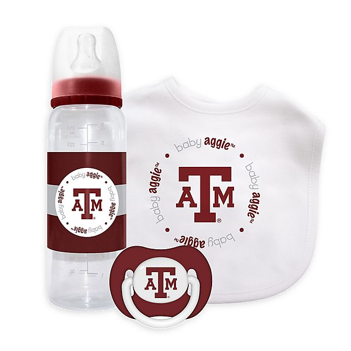 Alternate image 1 for Baby Fanatic® Texas A&M University 3-Piece Gift Set