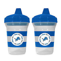 Baby Fanatic® NFL Detroit Lions 5 oz. Sippy Cups (Set of 2)