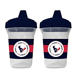 Baby Fanatic® NFL Houston Texans 5 oz. Sippy Cups (Set of 2)