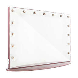 Hollywood Glow™ Pro Vanity Mirror in Rose Gold