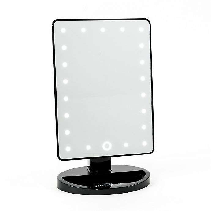 Impressions Vanity Touch 2 0 Dimmable Led Makeup Mirror Bed Bath