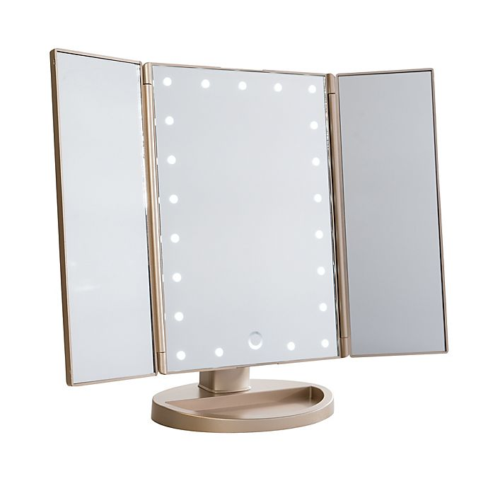 Impressions Vanity Touch Iv 3 0 Trifold Led Makeup Mirror